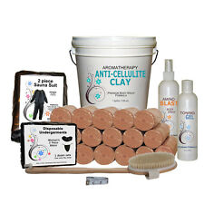 Start up Body Wrap Business Kit with Anti-Cellulite Clay - premium formula