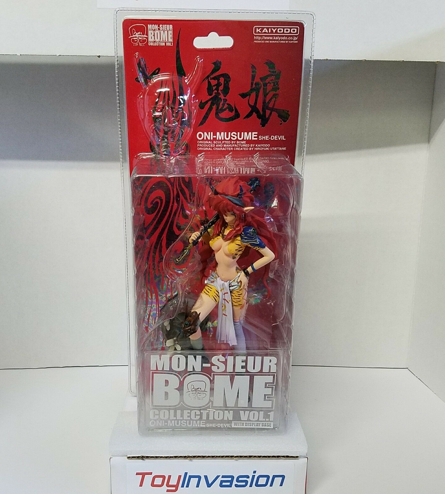 Kaiyodo Mon-sieur Bome Oni-Musume She Devil Collection Vol 1 Action Figure