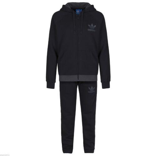 Adidas Xl M Trifoglio Originali Pile L Completa Grigio Tuta Taglia S Uomo Blu vRvxwBr