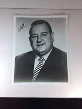 Curly Joe DeRita, Three Stooges, Autograph 8X10 Photo PSA/DNA Grade 7 Near-Mint