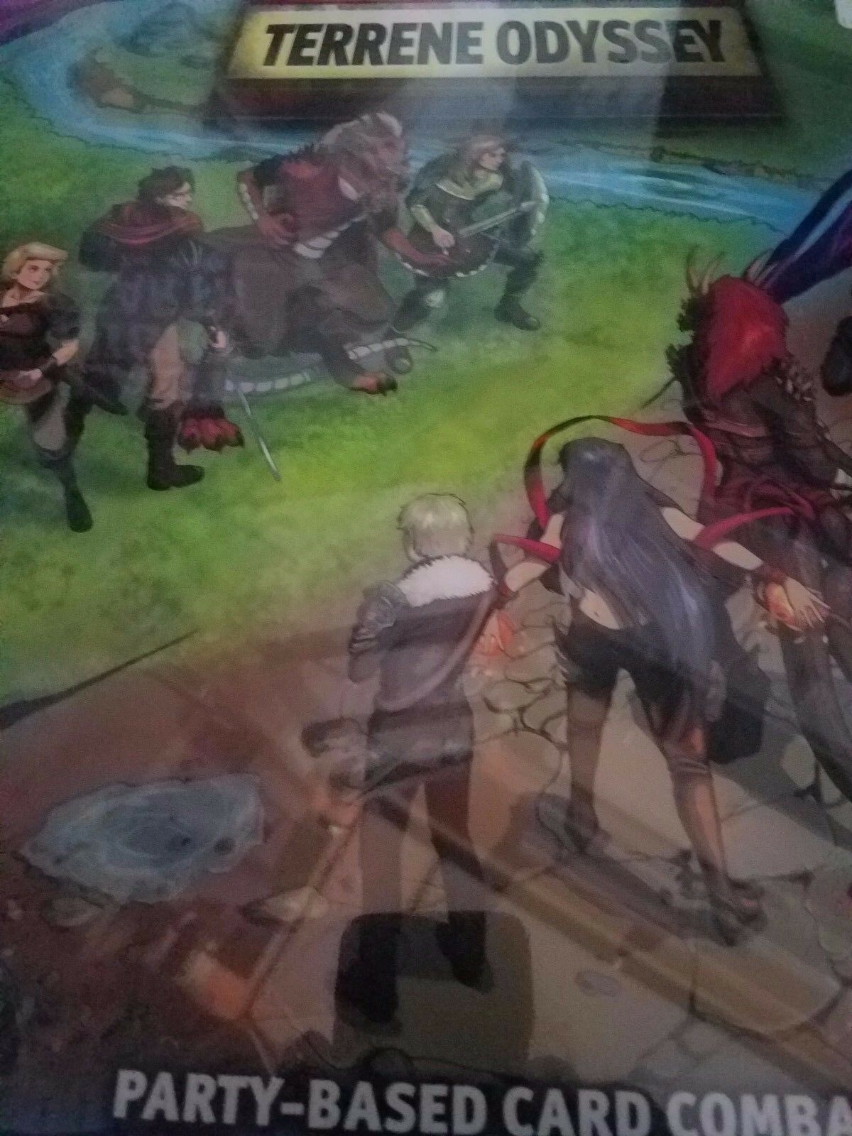 Terrene Odyssey - Asmadi Games Board Game New