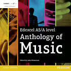 Edexcel AS/A Level Anthology of Music by Pearson Education Limited (CD-Audio, 2016)
