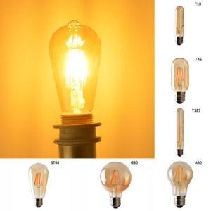 e27 edison gl hbirne gl hlampe led filament vintage. Black Bedroom Furniture Sets. Home Design Ideas