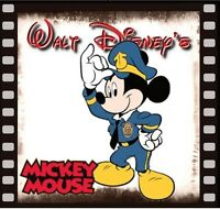 Mickey Mouse Fridge Magnet 2 Logo 7. 4 X 4. Mickey Cop.....free Ship