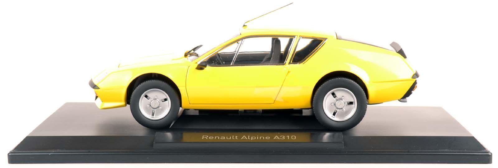 NOREV 185143 RENAULT ALPINE a310 1977 GIALLO 1 18 Nuovo Scatola Originale
