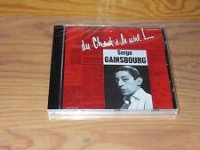 SERGE GAINSBOURG - DU CHANT A LA UNE / ALBUM-CD 2003 OVP! SEALED!