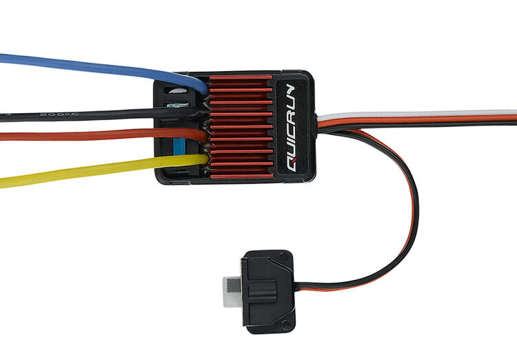 Hobbywing Quicrun WP 1625 Brushed Speed Controller 25A ESC   EU STOCK   SALE