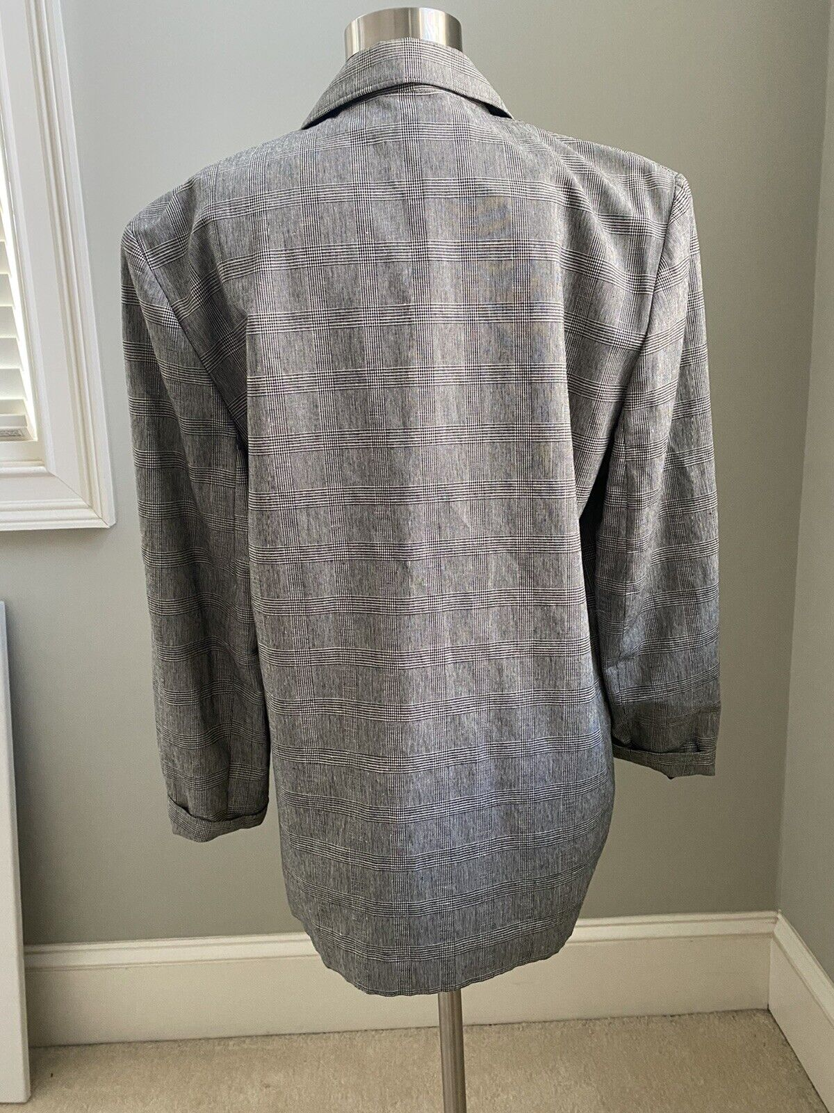 Laura Ashley Vintage 90s Double Breasted Single B… - image 2