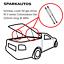 Gas-Struts-lift-Holden-Commodore-UTE-Tonneau-Hard-Lid-Cover-VU-VX-VY-VZ-525mm thumbnail 1