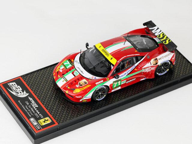 Ferrari 458 Italia GT2 GTE Le uomos 2013 BBR 1 43   no MR guardasmart