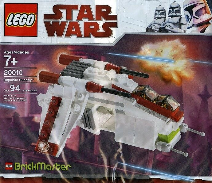 LEGO Star Wars Republik KanonenStiefel Gunship Brickmaster 20010 94 Teile