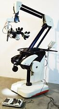 Leica M500 N Neuro Surgical Microscope With Storz S97778 Ntsc Camera Amp Ohs Stand