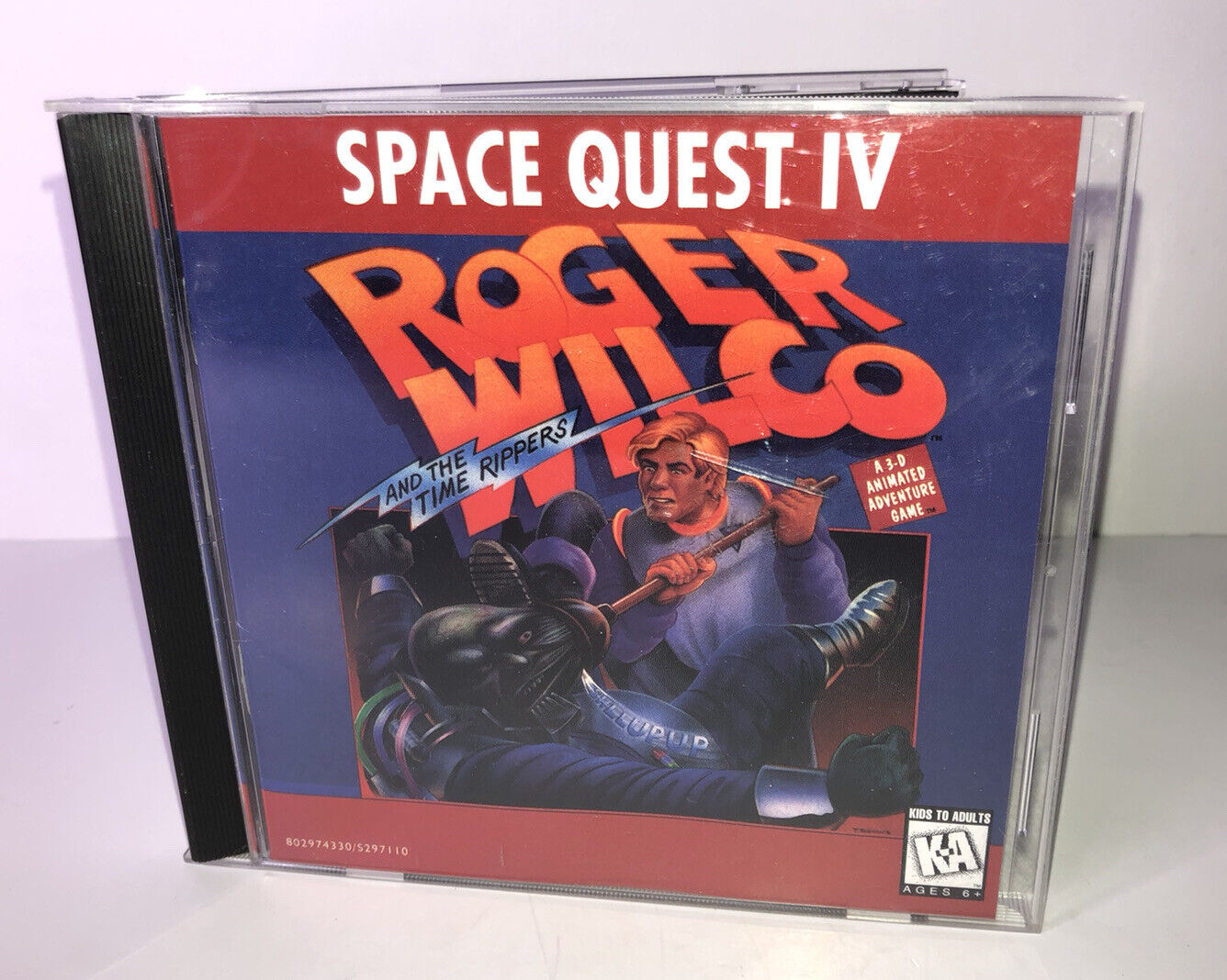 Space Quest Iv Roger Wilco And The Time Rippers Pc 1991 For Sale Online Ebay