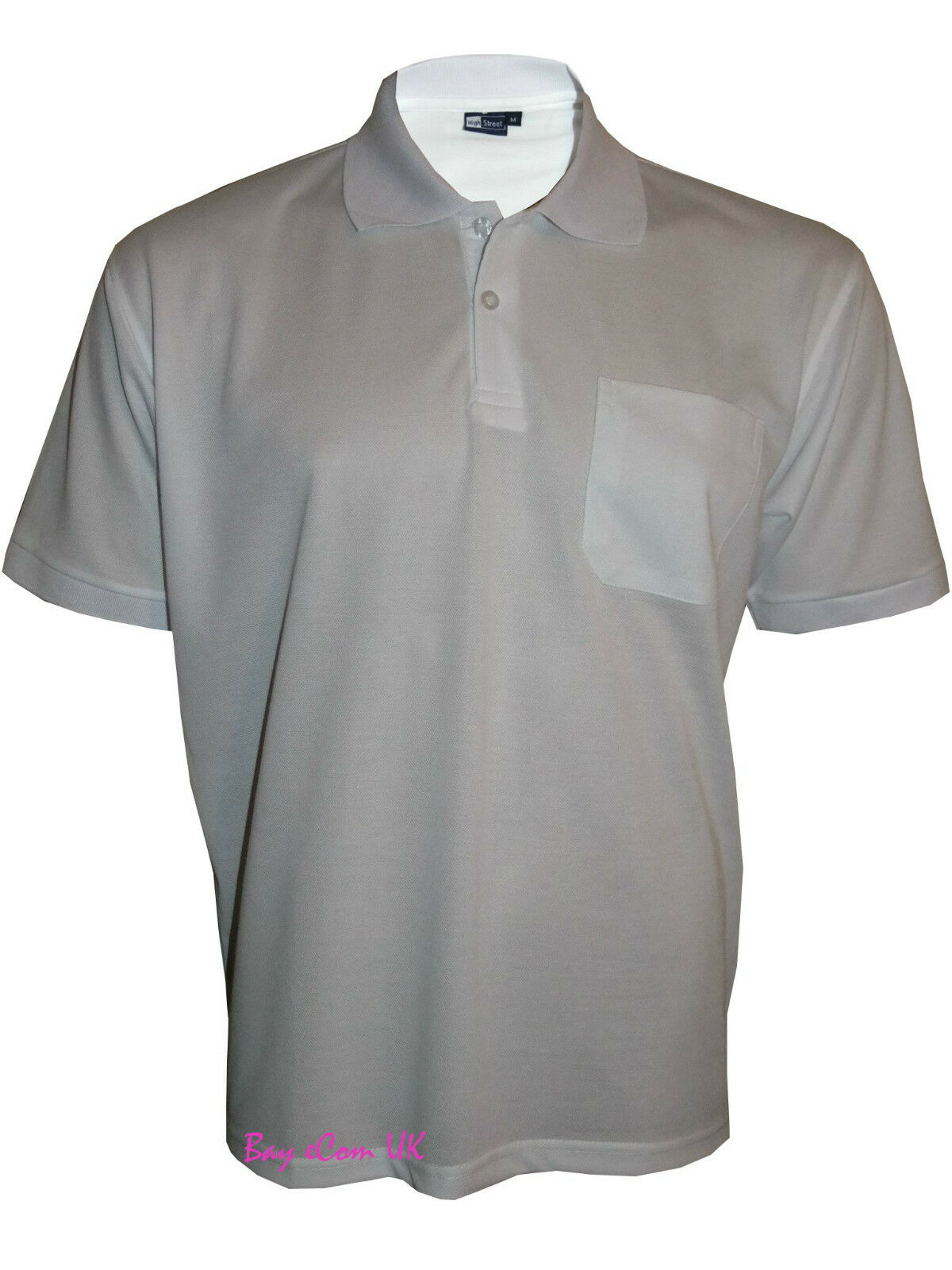 men s t shirts loose fit pk polo plain with pocket