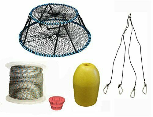 KUFA Sports Tower Style Prawn trap with 400' rope & Accessories CT130PAQ1HA5