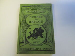 Acceptable-The-Human-Geographies-Book-IV-Europe-and-Britain-Fairgrieve-amp-Yo