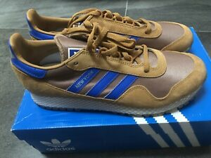 ADIDAS-NEW-YORK-MESA-BROWN-BLUE-BNIBWT-SIZE-UK-9-TRAINERS-NEW-SNEAKERS