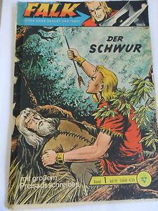 1x Comic Falk Band 1 Der Schwur Mit Sammelmarke Ebay