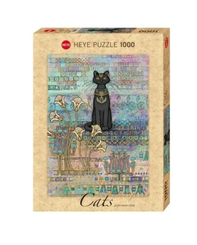 HY29536 1000 Pc - Heye Puzzles Cats Egyptian