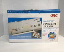 Gbc Docuseal95 Laminator Machine Hot Cold Foil Laminating Documents Docuseal
