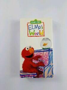 123 Sesame Street Elmo S World 2000 Dorothy Mr Noodle Oop Vhs Tape Rare