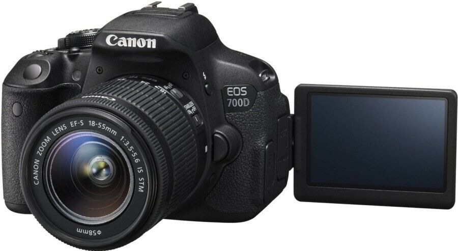 Canon, Canon 700D + 18-55mm IS STM f/3,5-5.6 18.0MP...