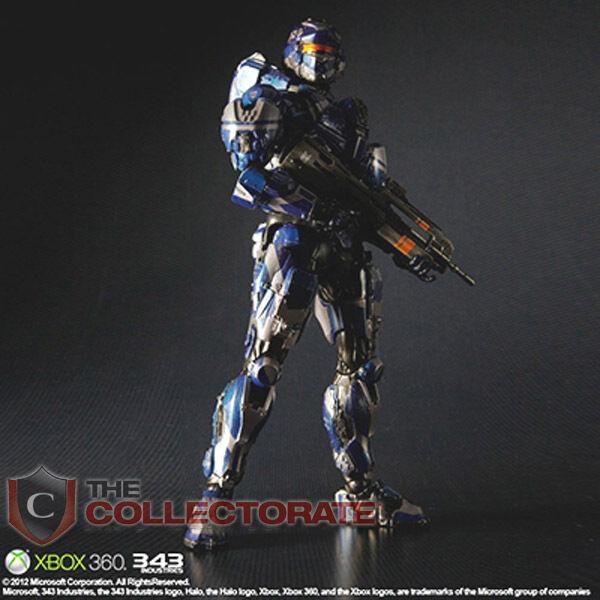 Halo 4 stück kunst kai spartanischer krieger actionfigur  neu