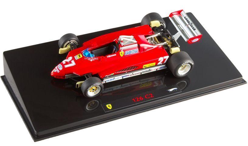 venta de ofertas Ferrari 126C2    G.Villeneuve  1982 N5580  1 43 Hot Wheels Elite  costo real