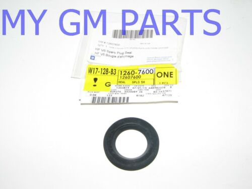 GM 3.6 SPARK PLUG SHIELD SEAL IN VALVE COVER FITS MANY MODELS NEW OEM 12607600