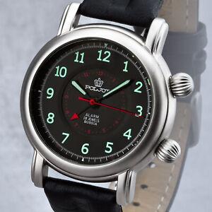 POLJOT 2612 Wecker mechnisch russische Handaufzug Uhr Alarm
