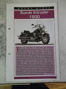 SUZUKI-INTRUDER-1500-collector-file-fact-sheet