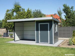 Go iso hochwertiges gartenhaus isoliert anthrazitgrau 5 00 x 2 00 m ebay - Gartenhaus isoliert ...