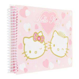 Album-Photo-Image-Carnet-Hello-Kitty-CEANOTHE-60-Photos-60-Pages-Taille-23-x-16