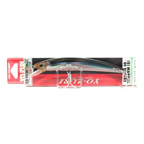 2145 Yo Zuri 3D Crystal Minnow 110 mm Sinking Lure F1149-RMT