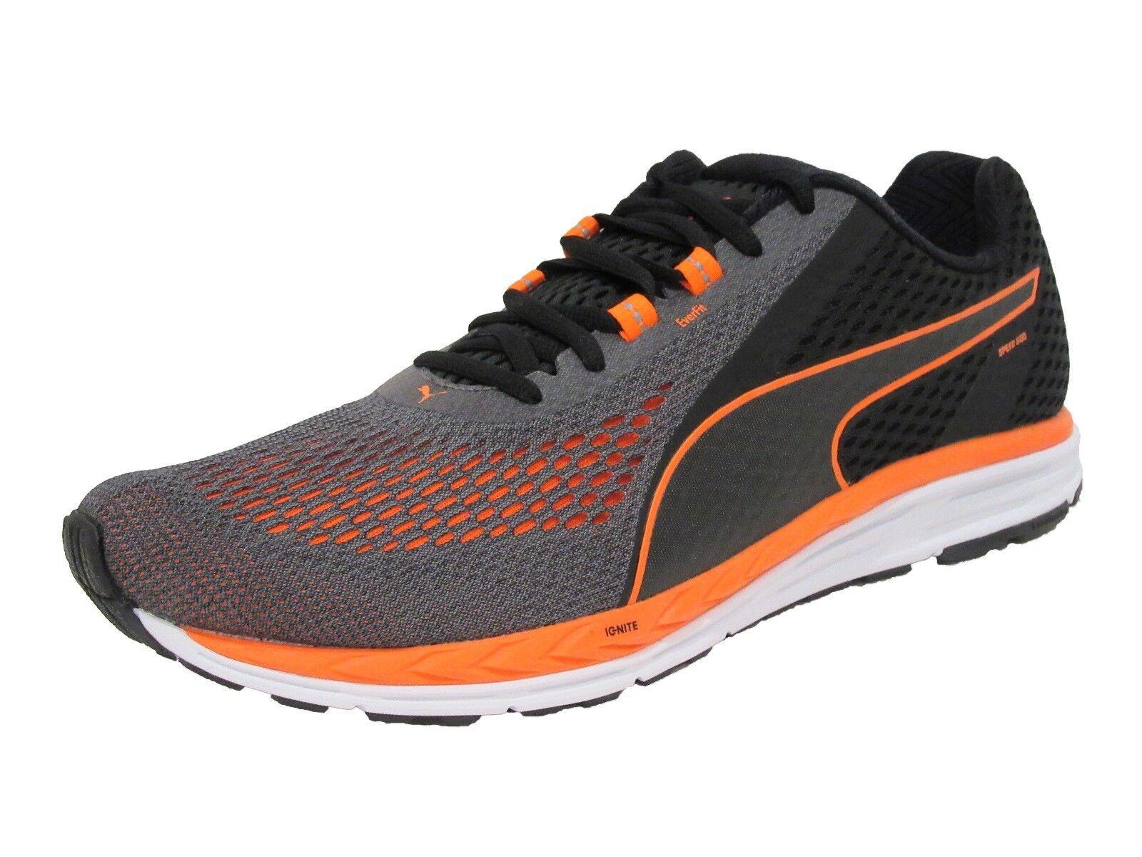 Puma de de los nuevos hombres de Puma velocidad 500 encender 2 zapatilla de Running negro / naranja f241d9