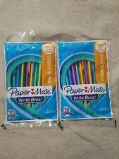 Lot Of 2 Paper Mate Write Bros Mechanical Pencils 07mm 10 Per Pack