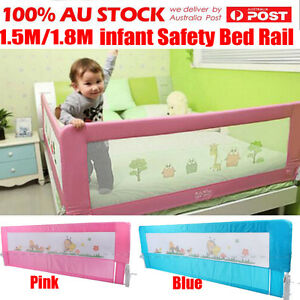 1-2-3Pcs-150CM-180CM-Wide-Safety-Bed-Rail-Cot-Guard-Protection-Child-Toddler-Kid