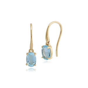 Gemondo-9ct-Yellow-Gold-1-12ct-Blue-Topaz-Drop-Earrings