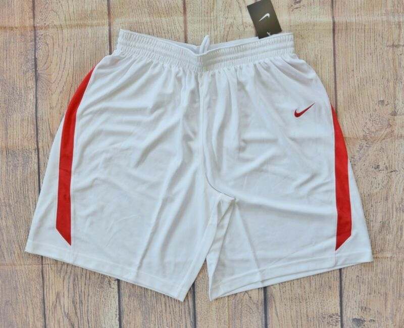 Hearty Nike Women's White/red Team Condition Game Basketball Short - L