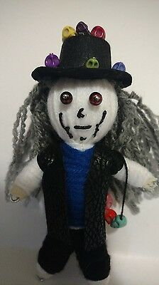 Skull Collector Authentic Voodoo Doll Altar guide new orleans Karma keepers