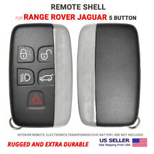 Smart Remote Key Shell Case For Range Rover Jaguar 5 Button High Quality Fits More Than One Vehicle