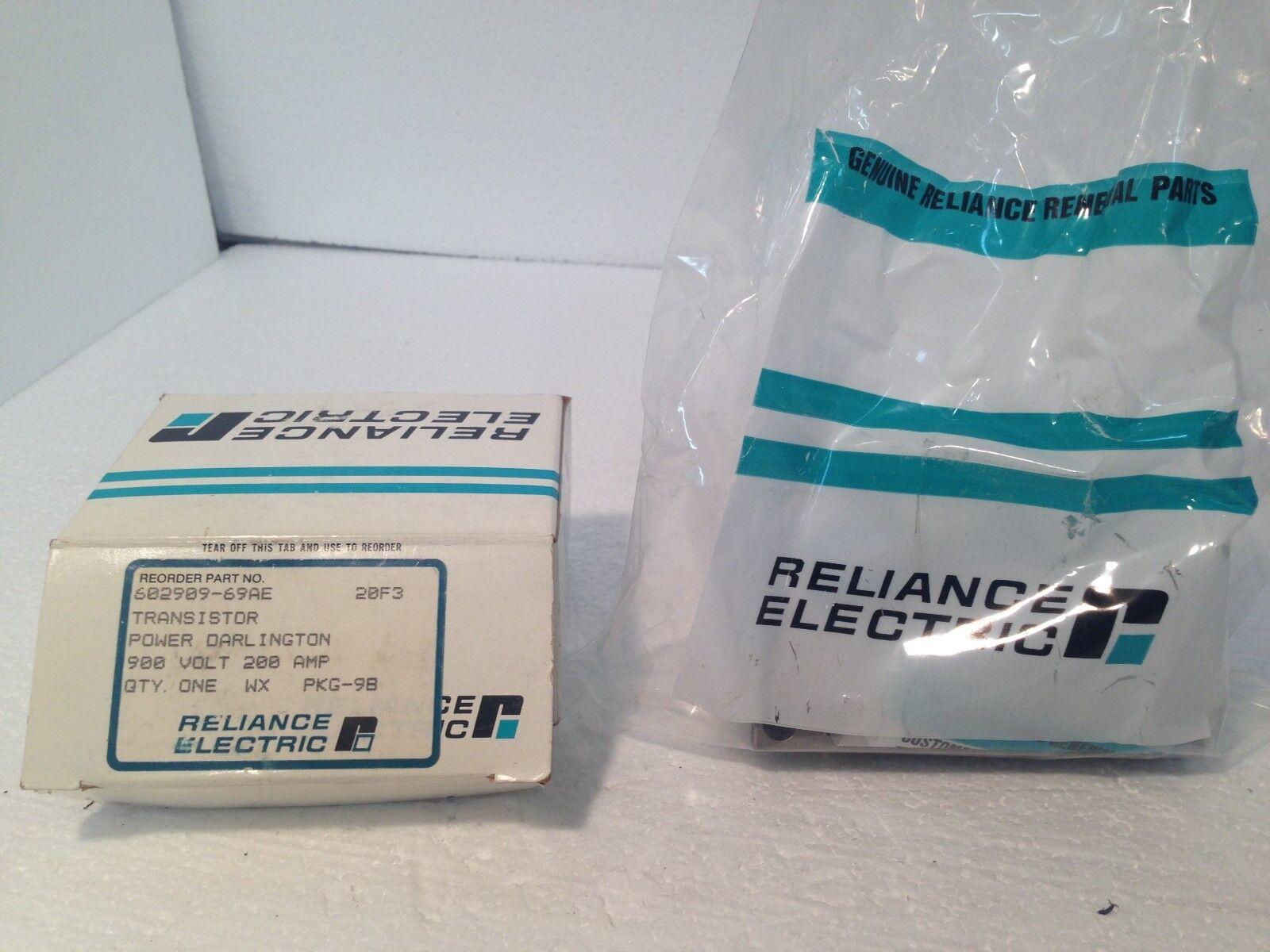 Nuevo en caja Reliance Reliance caja Electric 602909-69AE ET1266M Transistor 856381