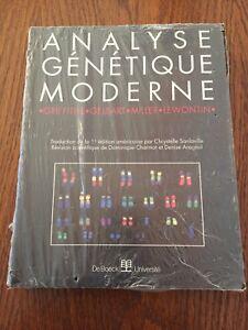 Analyse génétique moderne - Griffiths, Gelbart, Miller - DeBoeck Université