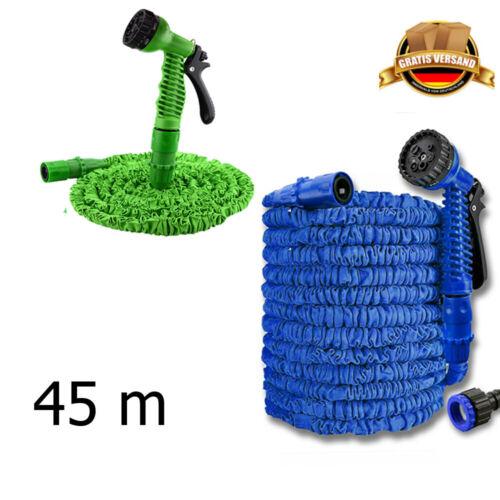 PREMIUM Flexibler Gartenschlauch Wasserschlauch dehnbarer Bewässerung Schlauch ⭕
