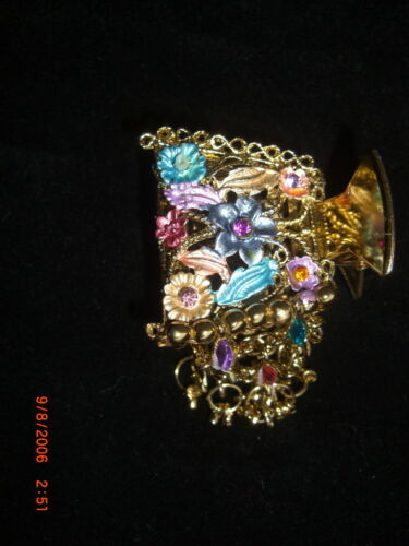 BEADED FANCY HAIR CLIPS  INDIAN UNIQUE