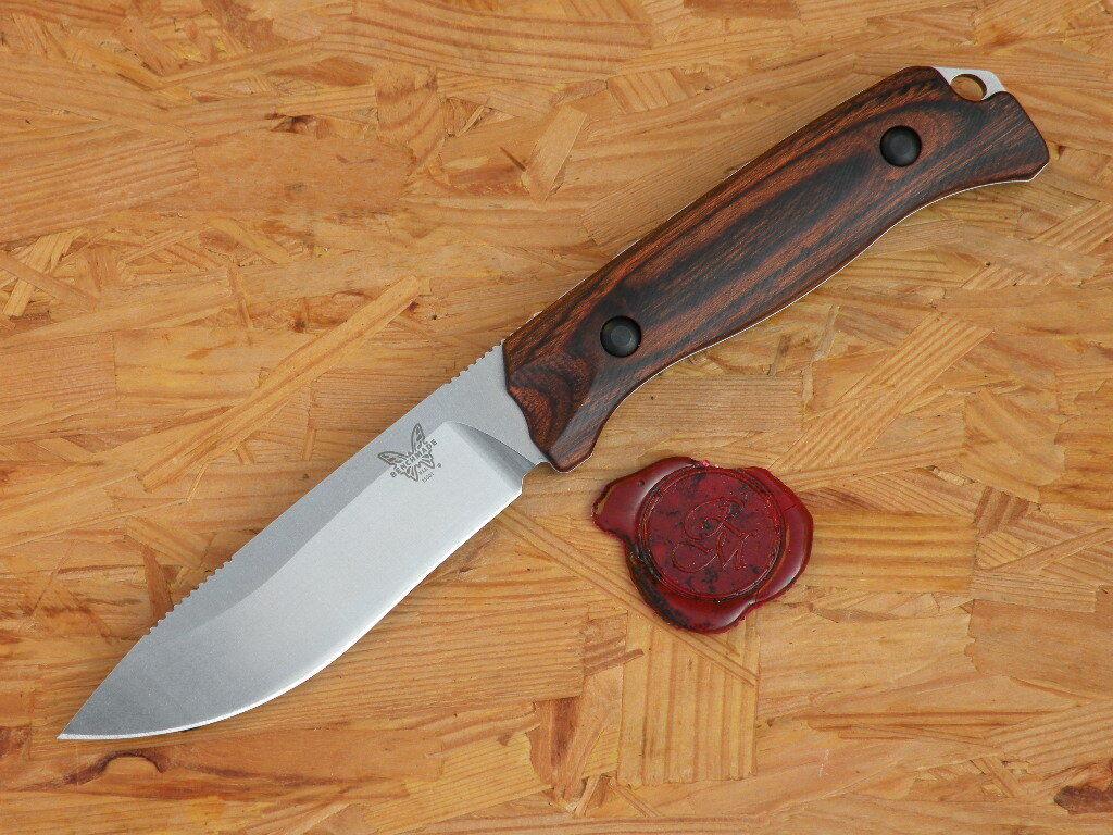 Couteau 15001-2 Benchmade Benchmade Benchmade Saddle Mountain Skinner Wood 8a893b