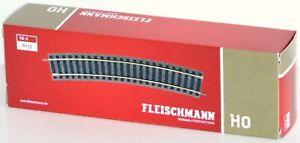 Fleischmann-H0-6133-S-Rails-Courbes-18-Rayon-R4-10-Piece-Neuf-Emballage