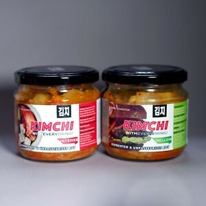 UK Made Kimchi x2mix Mite & Intense 2 * GRANDE GUSTO Award-authentickoreanrecipe