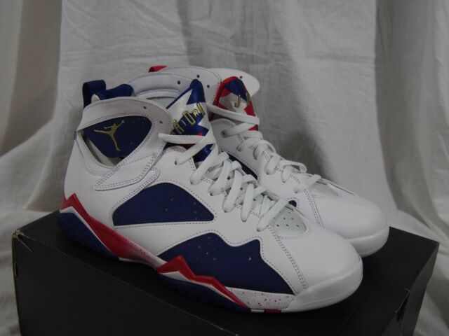 online store 13741 b4885 Nike Air Jordan 7 Retro Tinker Alternate Olympic Size 12 NWB 304775 123