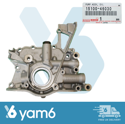 Genuine TOYOTA pompe à huile pour RAV4 AVENSIS PICNIC Corolla 1CD-FTV 15100-27030